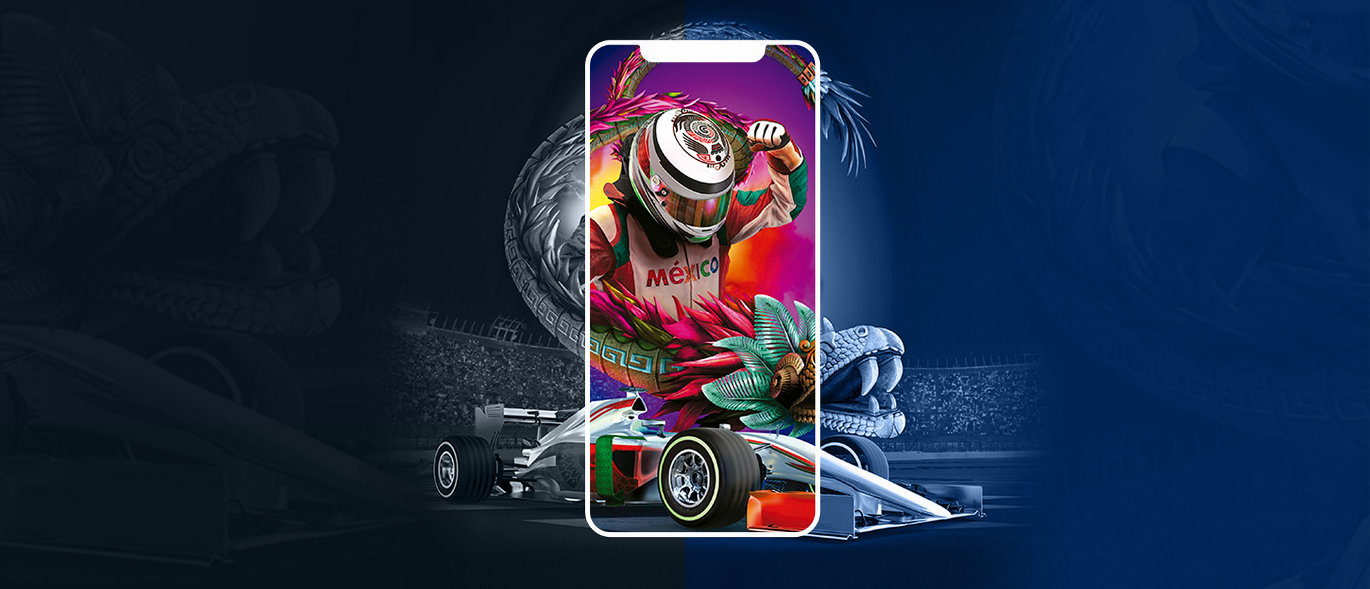 PUNK | F1 Mexico Grand Prix - Mobile App Development